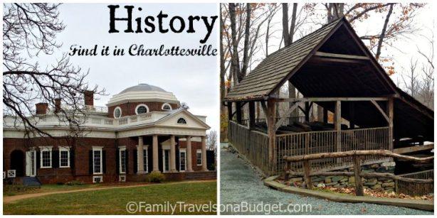 3 reasons to visit Charlottesville: history
