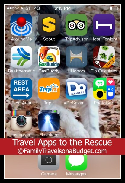 Travel Apps to the Rescue -- Handy Apps to help you get where you need to go!