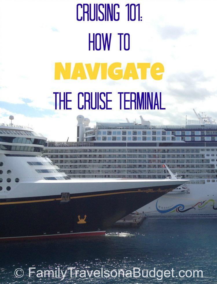 Cruising 101: Navigating the cruise terminal