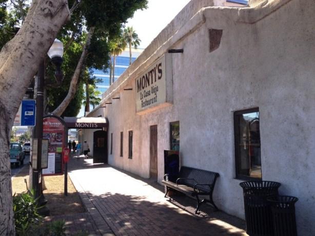 Montis side entrance