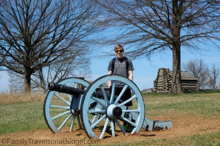 Valley Forge Cabin and Cannon