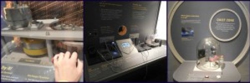 Some of the awesome interactive activities at the NASA Glenn Visitor Center.