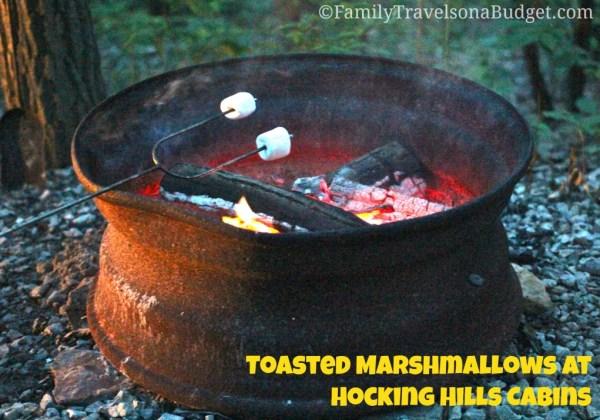 Hocking Hills Cabins Marshmallows