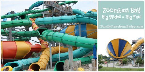 Zoombezi Bay Big Slides