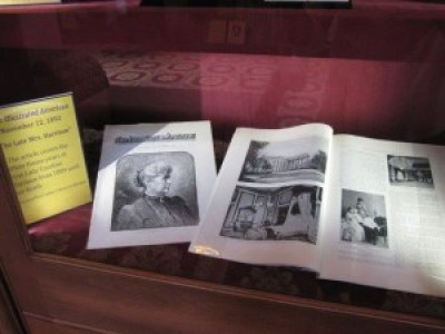 Part of the collection at the National First Ladies Library. Photo courtesy of the First Ladies National Historic Site.