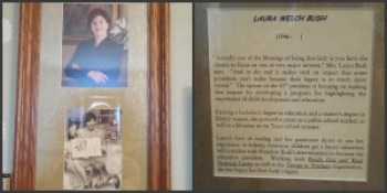 Laura Bush's shrine
