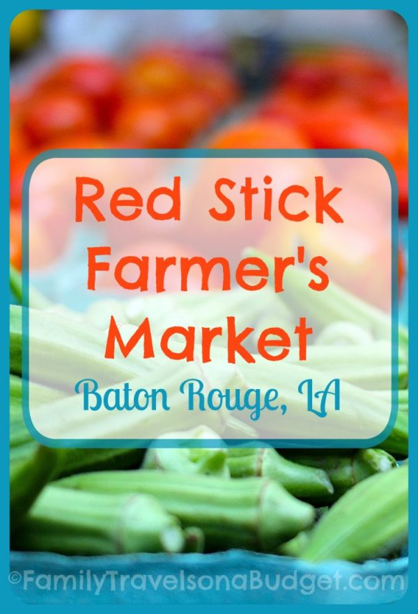 Red Stick Farmers Market Baton Rouge