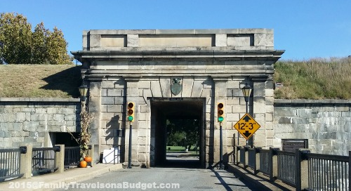 Fort Monroe Entrance Tunnel