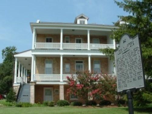 Robert E. Lee's home at Fort Monroe Photo Courtesy of the Hampton CVB