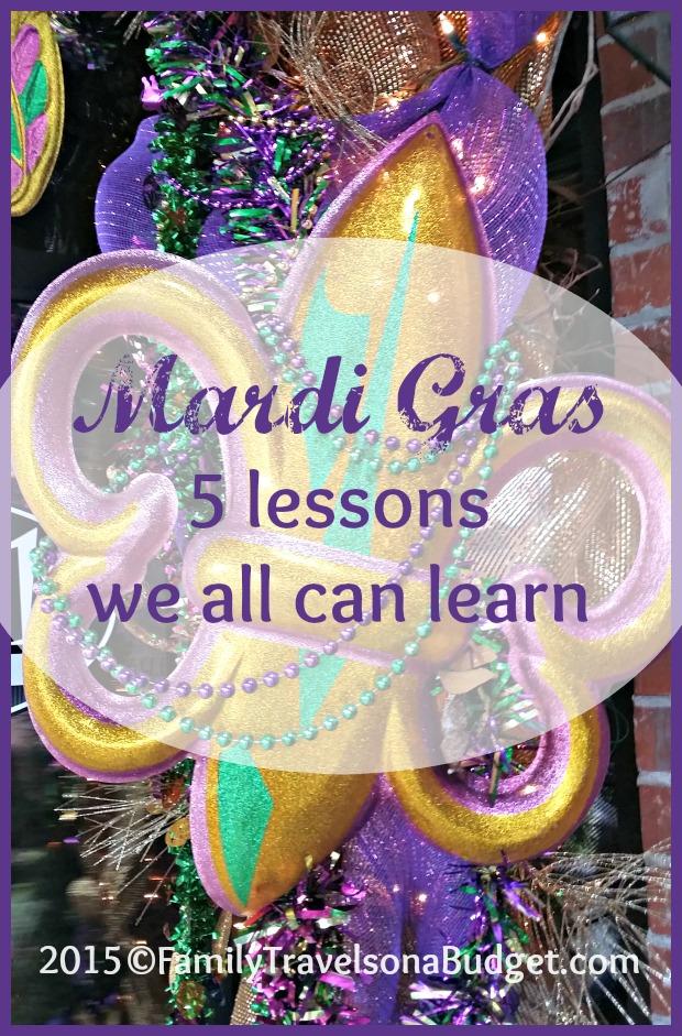 Mardi Gras at FamilyTravelsonaBudget.com
