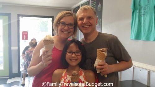 Matt's Homemade Ice Cream at Alabama Beaches