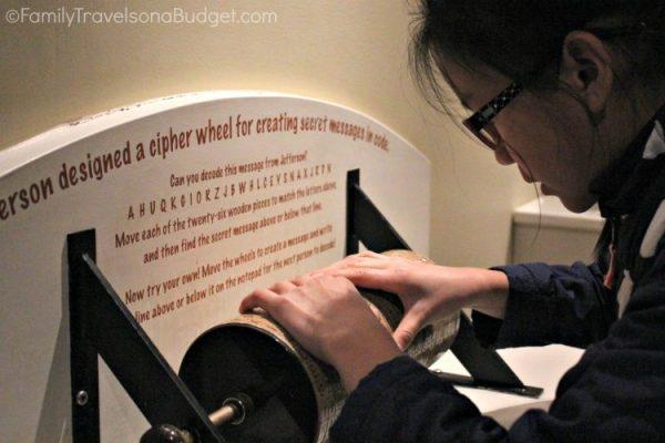 Cipher Wheel Monticello