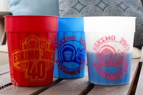 Eskimo Joe's famous collectible cups