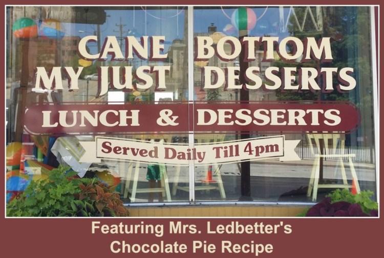 Mrs ledbetters chocolate pie