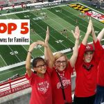 Top 5 college football towns for families