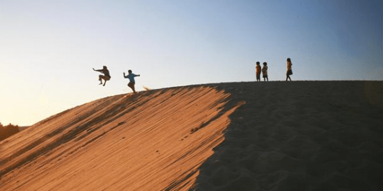 Things to do at the Outer Banks, the Dunes at Jockey Ridge