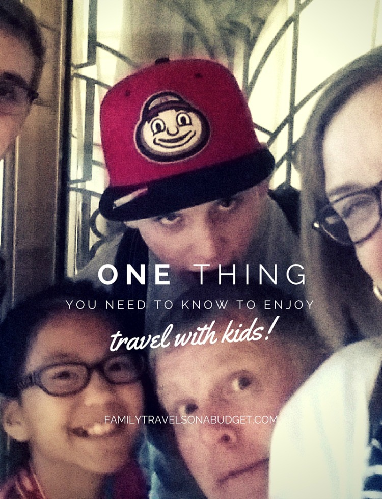 One thing you need to know for travel with kids