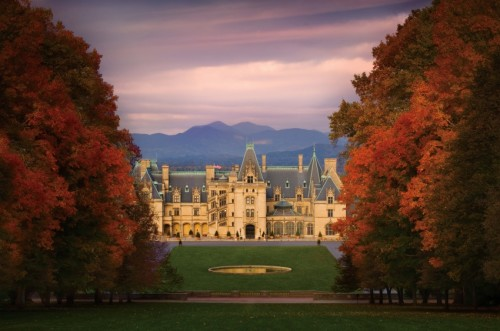Biltmore fall facade. Photo Credit: The Biltmore Company