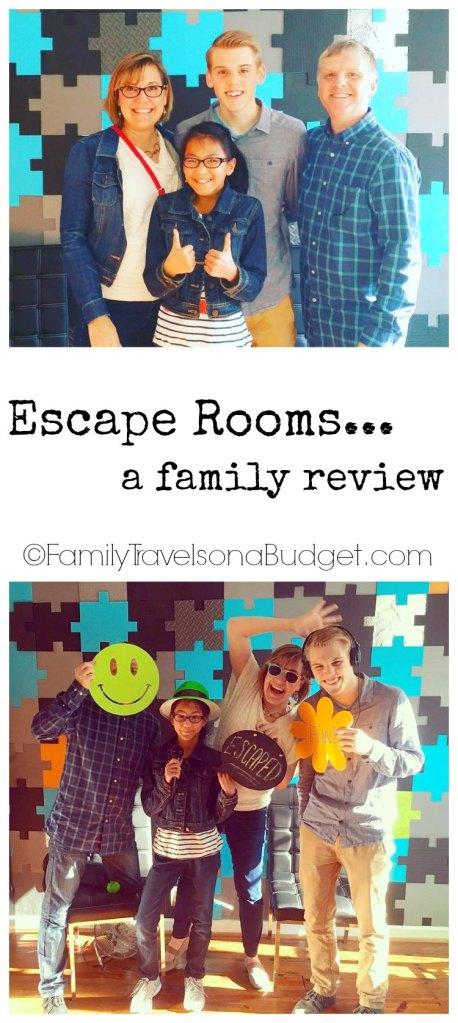 Escape Rooms… GO!