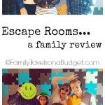 Escape Rooms... GO!