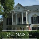 25 E. Main St.