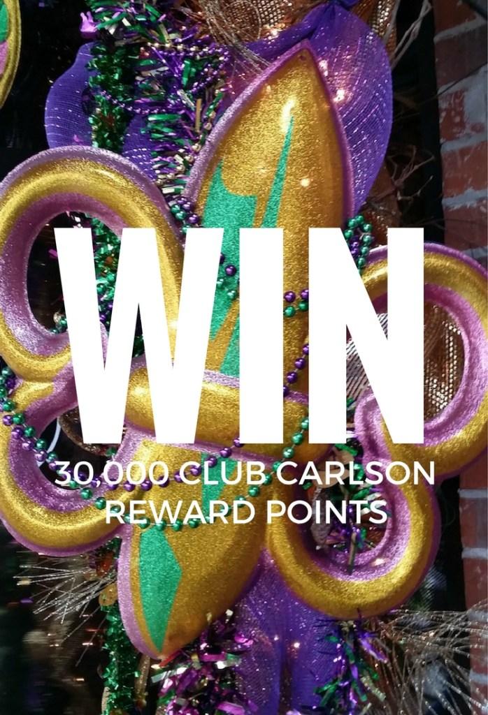 Club Carlson: Rewards and a giveaway!