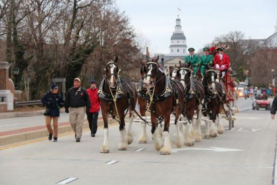 Military Bowl Parade, Annapolis holidays