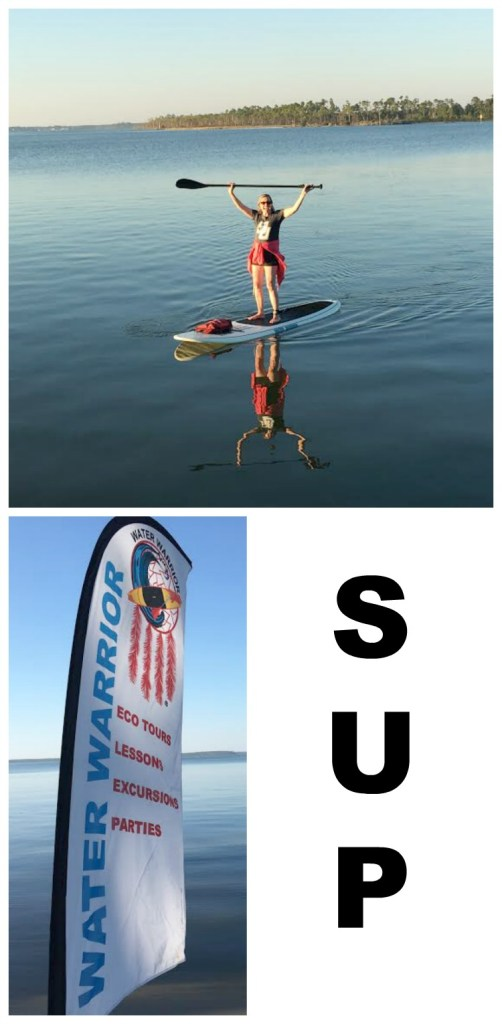 SUP: I'm a water warrior!