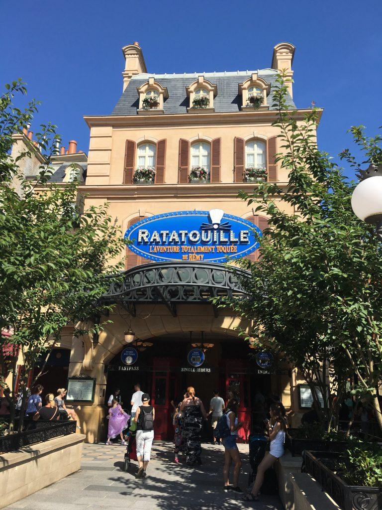 Rataouille, Disneyland
