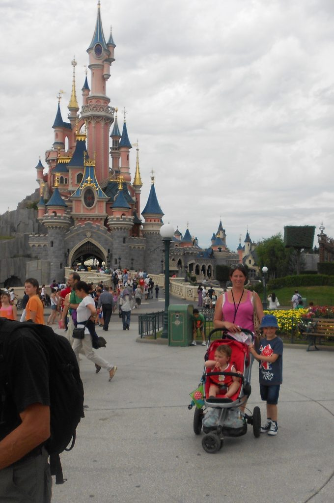 Disneyland Paris with a baby