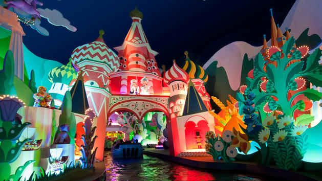 Its a Small World, Disneyland