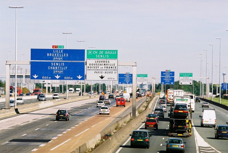 route to disneyland paris