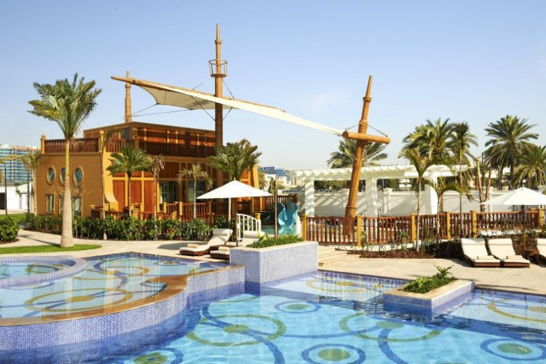 The St. Regis Abu Dhabi Kids pool