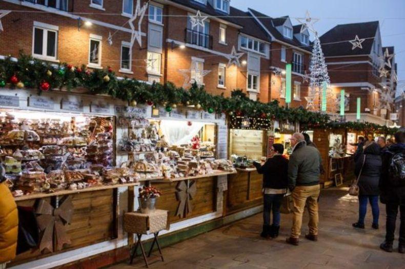 Canterbury Christmas Market Kent