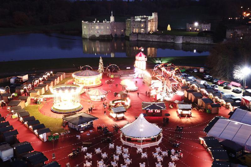 Christmas Market Leeds Castle Kent