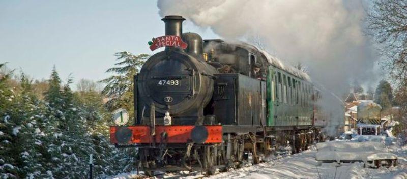 Santa Train in Kent