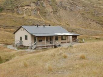 Posh hut on day 1