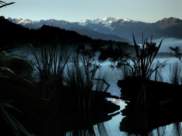 Dramatic lake