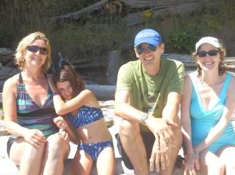 Newcastle Island beach group