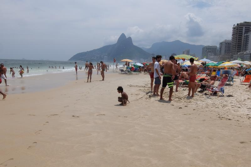 Rio de Janeiro spiaggia di Ipanema