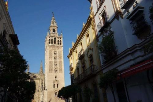 La Giralda ex minareto a Siviglia