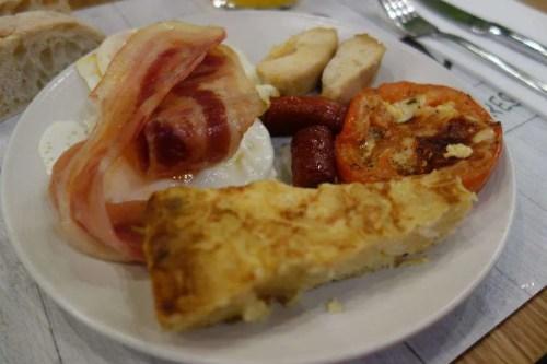 Colazione hotel Siviglia