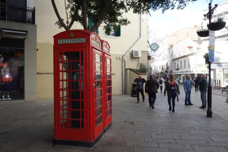 Cabine a Gibilterra