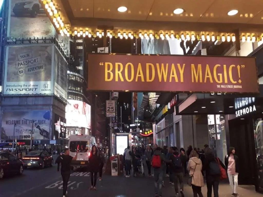 Broadway la strada dei teatri