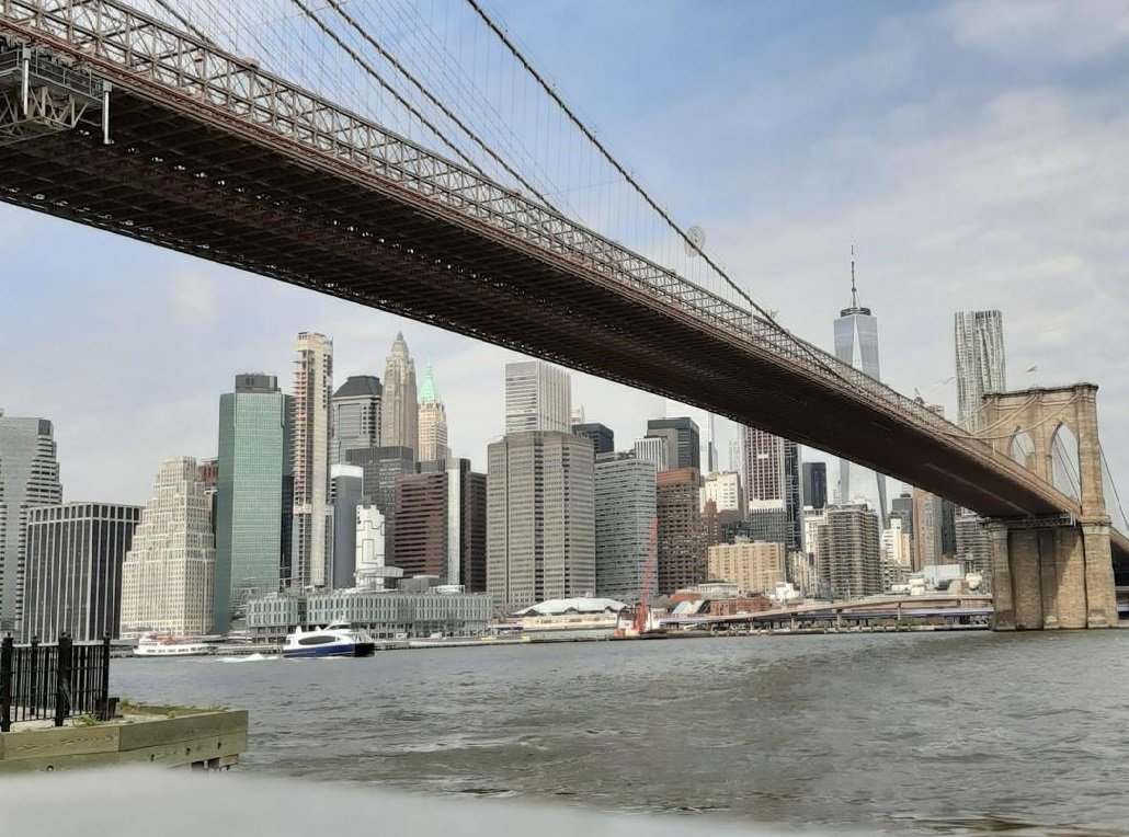 Vista su Manhattan da Brooklyn
