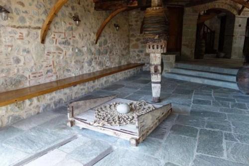 Carrucola monastero delle Meteore