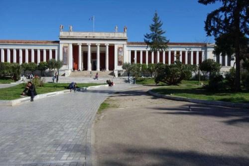 Museo archeologico nazionale Atene esterno