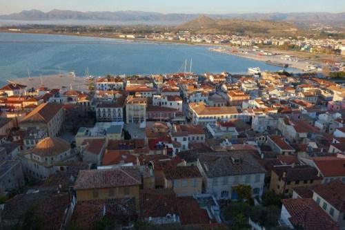 Nauplia panorama sul centro storico