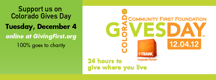 Support Family Voices Colorado on December 4, 2012, for Colorado Gives Day