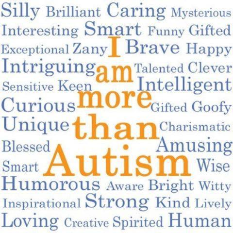 I am more than autism